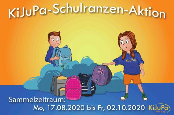 KiJuPa Schulranzen-Aktion