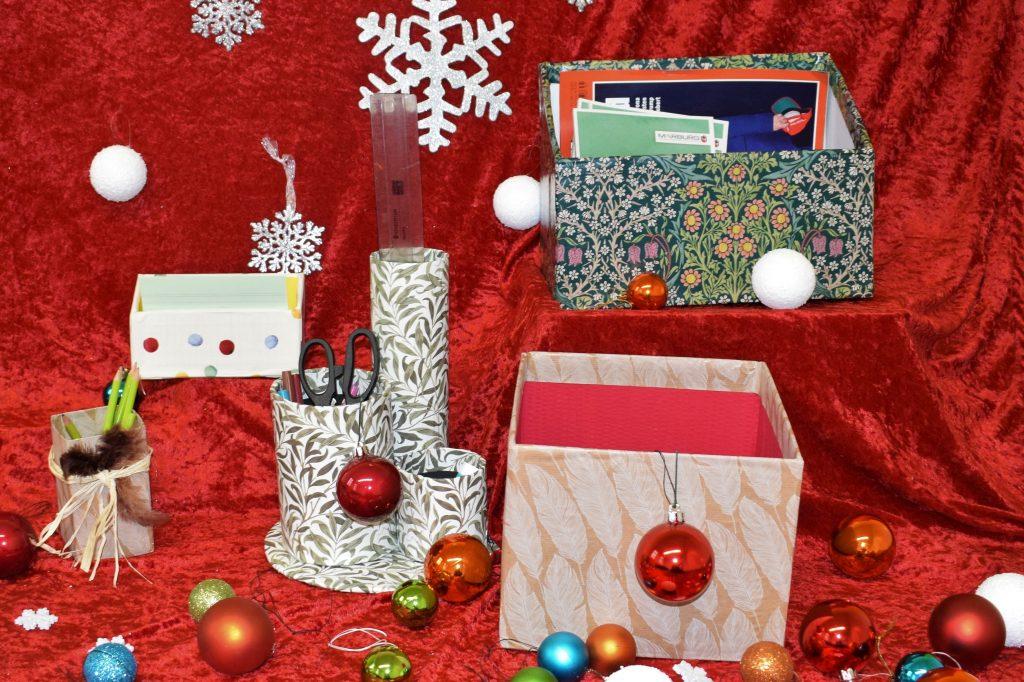 Kisten und Boxen aus Pappe und Karton
