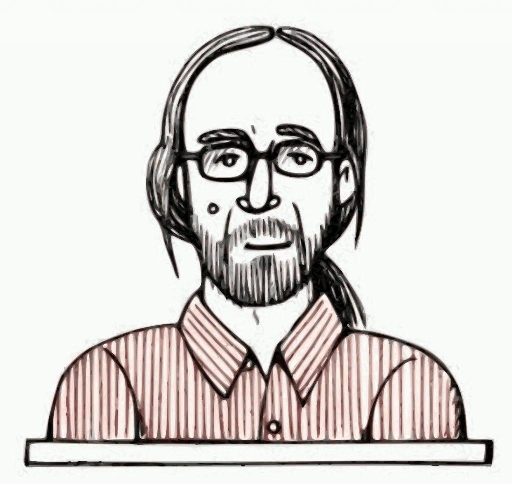 Christoph Becker als Zeichnung