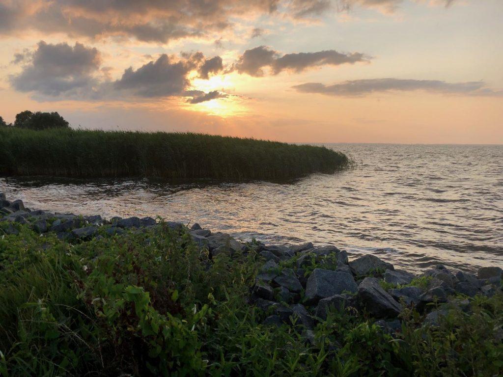 Sonnenuntergang in Ueckermuende