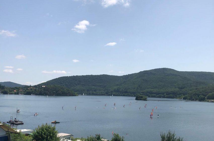 Rauf auf das Brett und raus auf den See!
