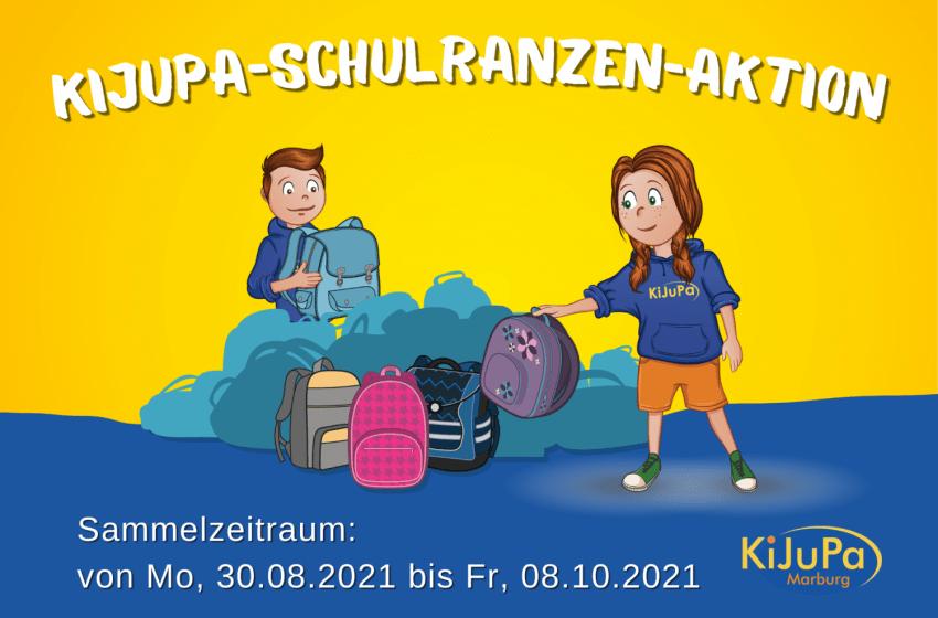 KiJuPa-Schulranzen-Aktion 2021