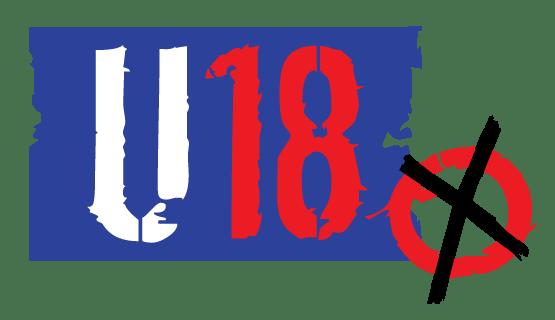 Das Logo zur U18-Wahl.