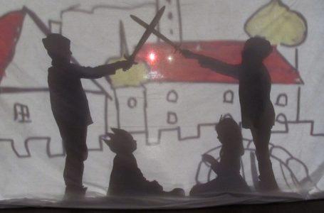 Schattentheater im Kinderclub